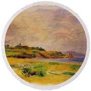 Cagnes Landscape 1910 2 Round Beach Towel