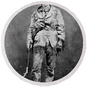 Calamity Jane (1852-1903) Round Beach Towel