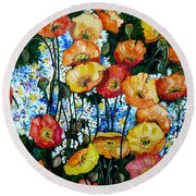 California Dreamz Round Beach Towel