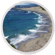 California Lovin Round Beach Towel