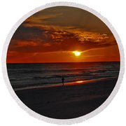 California Sun Round Beach Towel