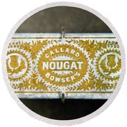 Callard And Bowser's Nougat Round Beach Towel