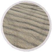 Calm Sands Round Beach Towel