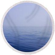 Calm Sea Round Beach Towel