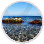 Calm Round Beach Towel
