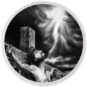 Calvary Round Beach Towel