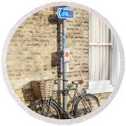 Cambridge Bikes 5 Round Beach Towel