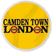 Camden Town Round Beach Towel