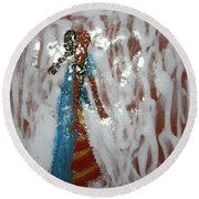 Camille - Tile Round Beach Towel