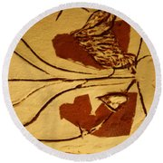 Can We 2 - Tile Round Beach Towel
