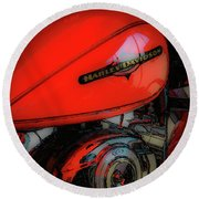 Can You Feel The Rumble 4420 G_2 Round Beach Towel
