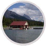 Canadian Rockies # 10 Round Beach Towel