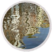 Canal House Reflections Round Beach Towel