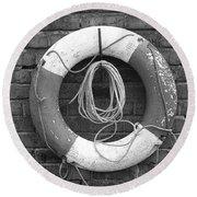 Canal Lifesaver Round Beach Towel