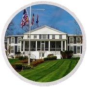 Canandaigua Yacht Club Round Beach Towel