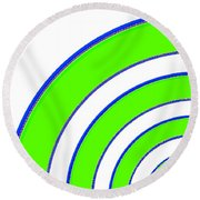 Candid Color 13 Round Beach Towel