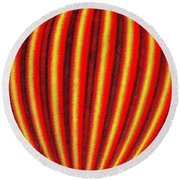 Candid Color 9 Round Beach Towel