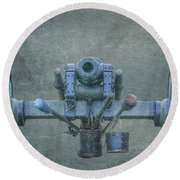 Cannon Civil War Artillery Round Beach Towel