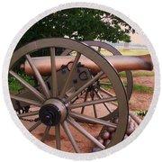 Cannon Gettysburg Round Beach Towel