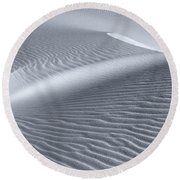 Canvas Of The Winds Round Beach Towel