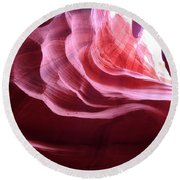 Canyon Ceiling Round Beach Towel