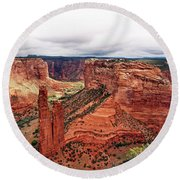 Canyon De Claire - New Mexico Round Beach Towel
