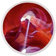 Canyon Dreams 7 Round Beach Towel