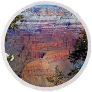 Canyon Mystique Round Beach Towel