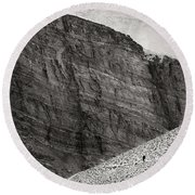 Canyon Nishgar Round Beach Towel