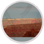 Canyon Rims Round Beach Towel
