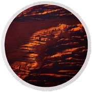Canyonland From 36k Round Beach Towel