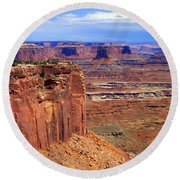 Canyonlands 4 Round Beach Towel