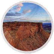 Canyonlands Delight Round Beach Towel