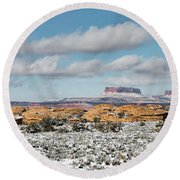 Canyonlands Round Beach Towel