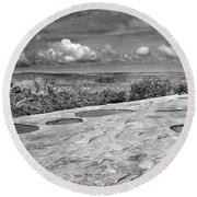 Canyonlands Puddles Round Beach Towel