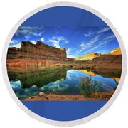Canyons 1920x1200 009 Round Beach Towel