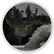 Cape Disappointment Finale Round Beach Towel