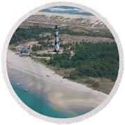 Cape Lookout 6 Round Beach Towel