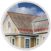 Cape May Summer 2015 Round Beach Towel