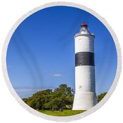 Cape Ottenby Light Round Beach Towel