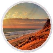 Cape Sunrise Sands Round Beach Towel