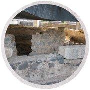 Capernaum 2 Round Beach Towel
