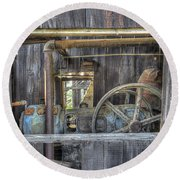 Capital Quarry Cutting Shed Round Beach Towel