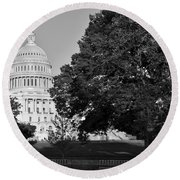Capitol Hill Round Beach Towel