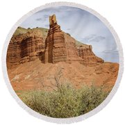 Capitol Reef 1 Round Beach Towel