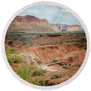 Capitol Reef 4 Round Beach Towel