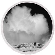 Capitol Reef Np 9449 Round Beach Towel