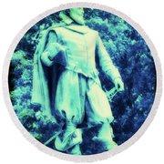 Captain John Smith - Jamestown Virginia Round Beach Towel
