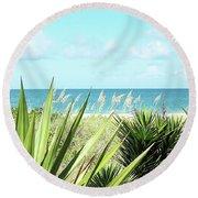 Captiva Gp Round Beach Towel