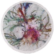 Carbonify Placing  Id 16098-041039-61930 Round Beach Towel